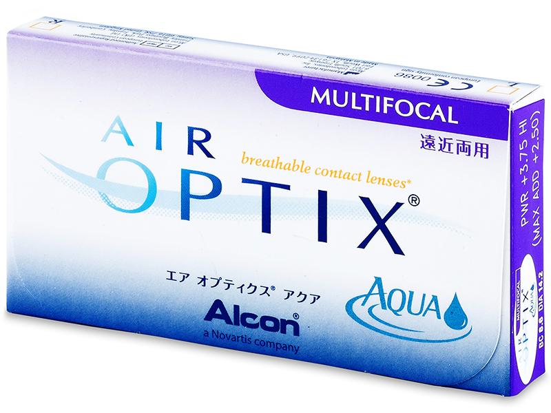 Air Optix Aqua Multifocal (6Lentillas) - Diseño antiguo