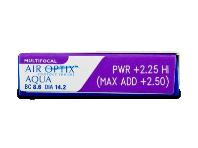 Air Optix Aqua Multifocal (3Lentillas) - Previsualización de atributos