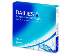 Lentillas diarias - Dailies AquaComfort Plus (90 Lentillas)
