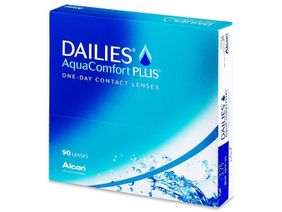 Dailies AquaComfort Plus (90 Lentillas)