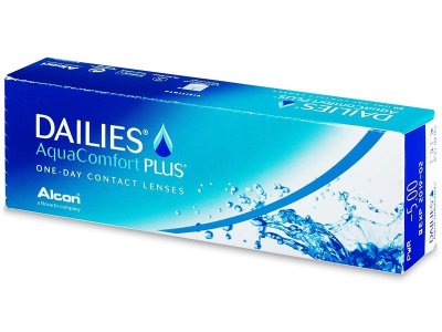 Dailies AquaComfort Plus (30 Lentillas)