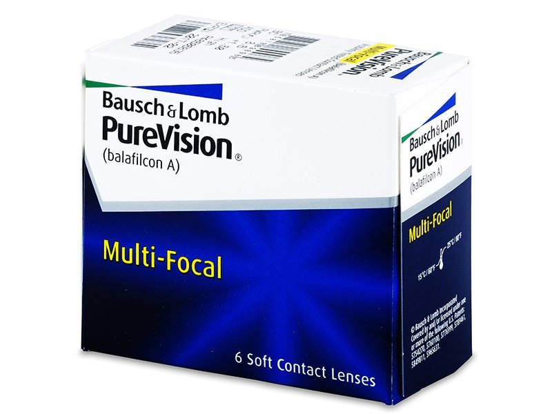 PureVision Multi-Focal (6Lentillas) - Lentillas multifocales - Bausch and Lomb