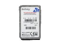 Biofinity (6Lentillas) - Previsualización del blister