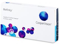 Biofinity (6Lentillas) - Lentillas mensuales