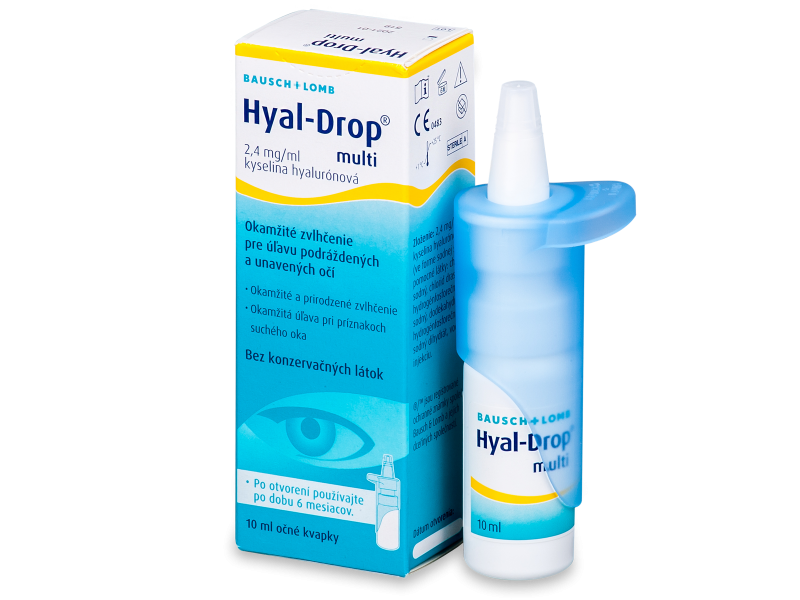 Gotas Hyal-Drop multi 10ml  - Gotas oculares