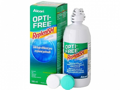 Líquido OPTI-FREE RepleniSH 300 ml  - Diseño antiguo