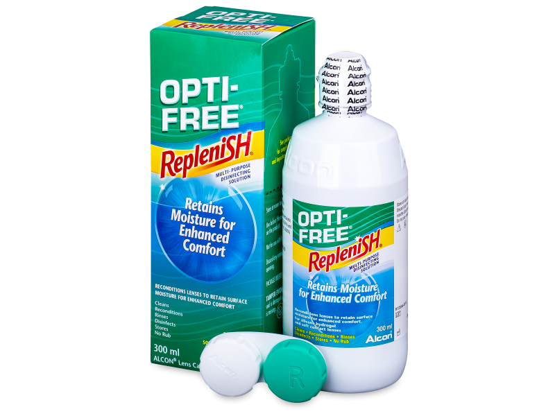 Líquido OPTI-FREE RepleniSH 300 ml