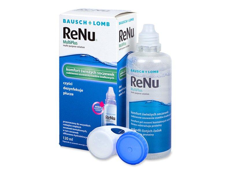 Líquido ReNu MultiPlus 120ml  - líquido de limpieza - Bausch and Lomb