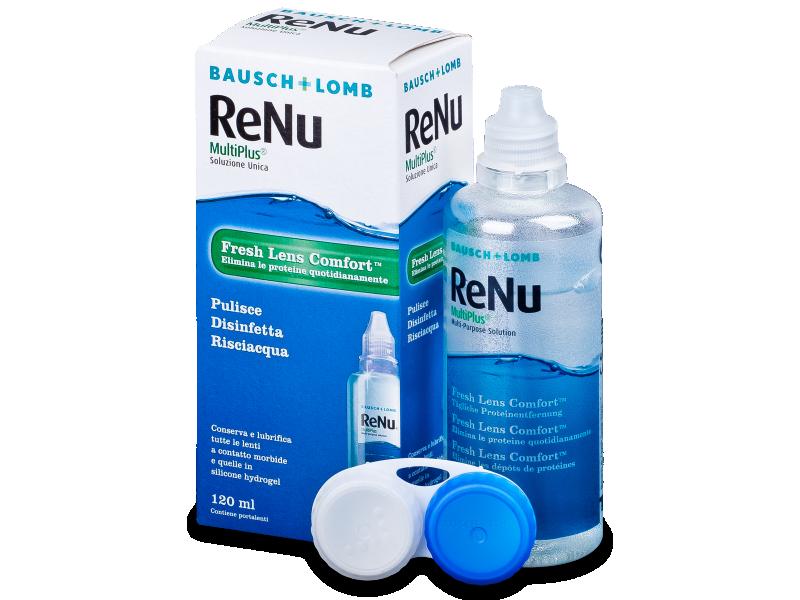 Líquido ReNu MultiPlus 120ml  - líquido de limpieza