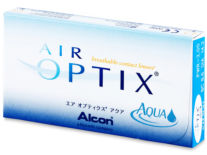 Air Optix Aqua (6 Lentillas) - Diseño antiguo