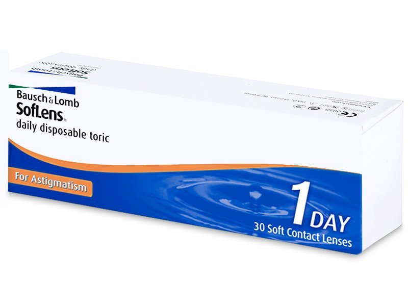 SofLens Daily Disposable Toric (30 Lentillas) - Lentillas tóricas - Bausch and Lomb