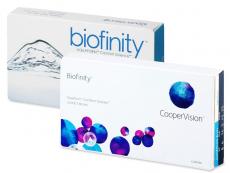 Biofinity (3Lentillas) - Diseño antiguo