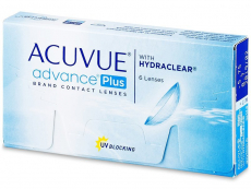 Lentillas Johnson and Johnson - Acuvue Advance PLUS (6 Lentillas)