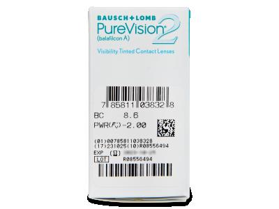 PureVision 2 (6Lentillas) - Previsualización de atributos
