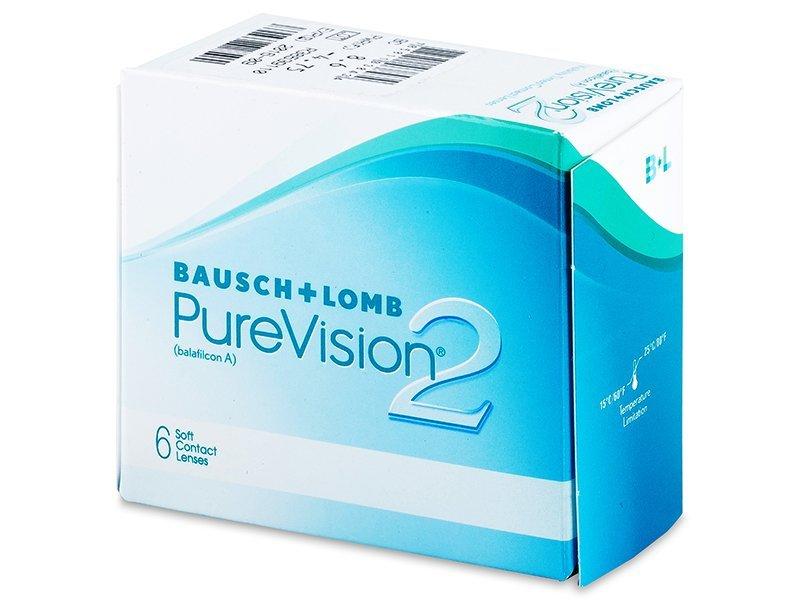 PureVision 2 (6Lentillas) - Lentillas mensuales - Bausch and Lomb