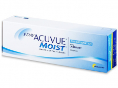 Lentillas Johnson and Johnson - 1 Day Acuvue Moist for Astigmatism (30 Lentillas)