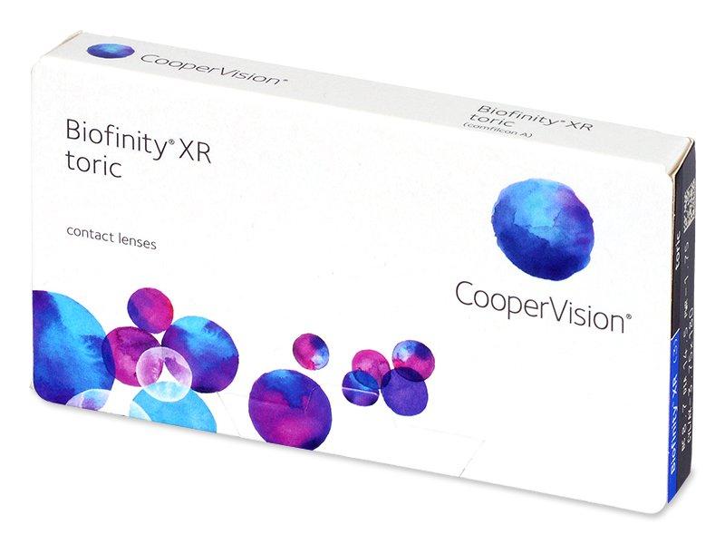 Biofinity XR Toric (3 lentillas) - Lentillas tóricas