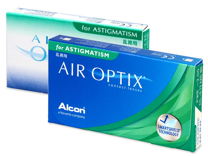 Air Optix for Astigmatism (6 Lentillas) - Lentillas tóricas - Alcon