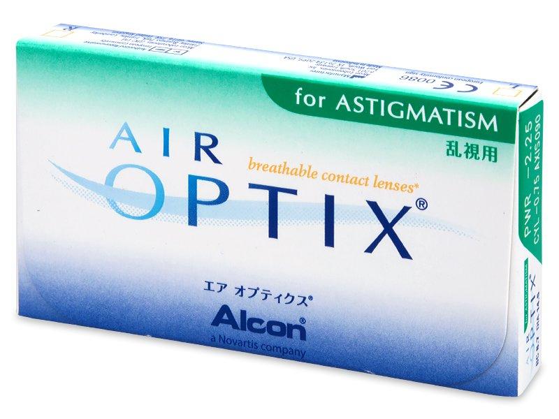 Diseño antiguo - Air Optix for Astigmatism (6 Lentillas)