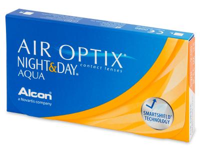 Air Optix Night and Day Aqua (6Lentillas) - Diseño antiguo