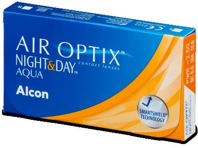 Air Optix Night and Day Aqua (6Lentillas)