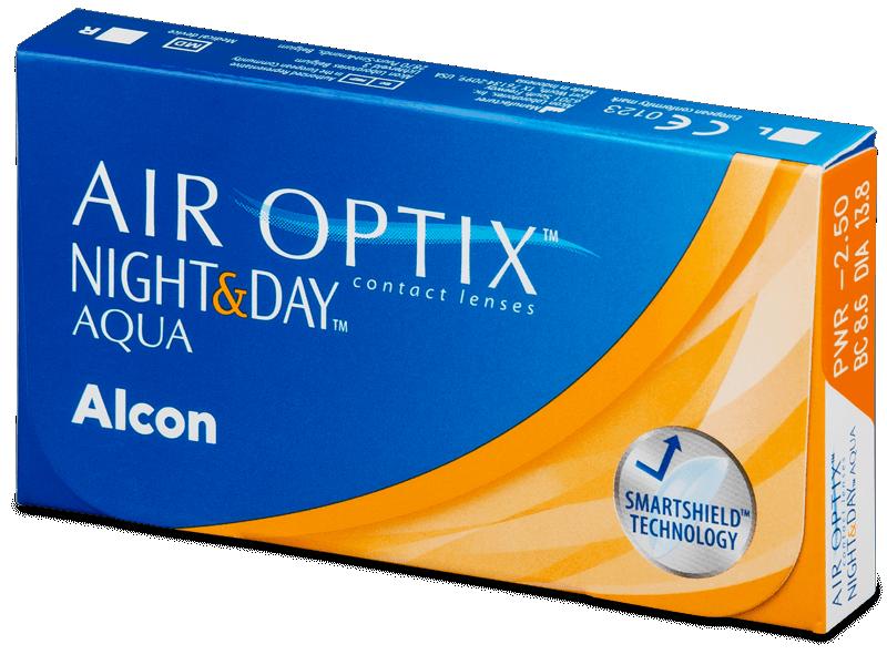 Air Optix Night and Day Aqua (6Lentillas) - Lentillas mensuales