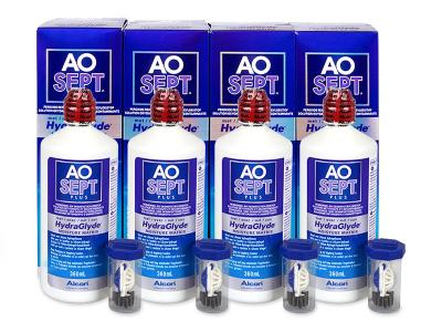 Líquido AO SEPT PLUS HydraGlyde 4 x 360ml