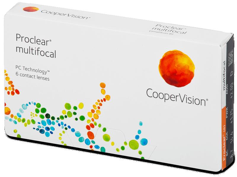 Proclear Multifocal (6Lentillas) - Lentillas multifocales